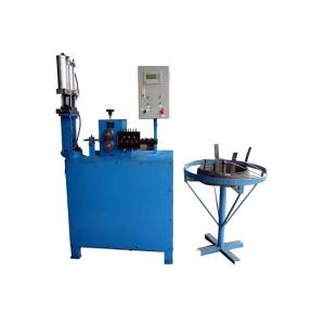 China Easy Operation Wire Straightening And Cutting Machine PLC Control System on sale
