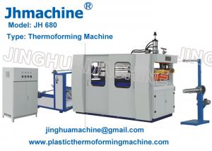 Quality Cam Type Plastic Thermoforming Machine for Cups and Trays for sale