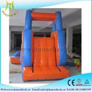 China Hansel 2017 hot selling commercial PVC outdoor inflatable play area rent bounce house on sale