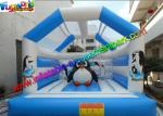 Funny Big Custom Penguin Inflatable Jumping House 5m x 4m x 3.5m