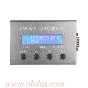 China Universal 10 in 1 Service Light & Airbag Reset Tool on sale