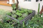 raised garden bed,ALDI &Kmart Choice raised garden bed 80x60x30 metal garden bed with gree