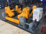 Self Aligned Welding Rotator 40 Ton Turning Capacity PU Rollers Inverter Speed