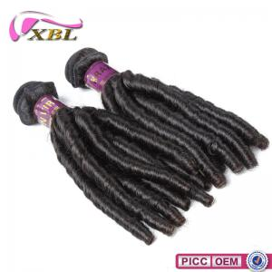 China XBL New Arrival Top 7A Double Layers Virgin Brazilian Spiral Curl Hair Weaving on sale