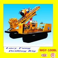 China China MGY-100BL Crawler Rock And Soil Anchor Drilling Rig With Hydraulic Chuck on sale