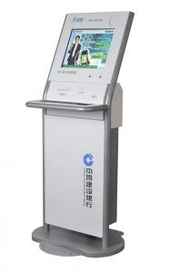 China Custom 15, 17, 19, 22 Inch Innovative Free Standing Kiosks with Check Reader, Coin Hopper on sale