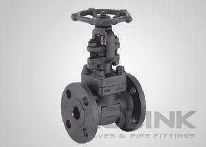 China Forged Steel Gate Valve Integral Flanged End A105 F304 F316 F11 F22 on sale