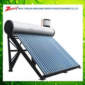 China Chauffe-eau solaire préchauffé de haute qualité avec le réservoir auxiliaire on sale