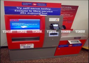 China ATM Machine Outdoor Advertising Kiosk Modular Design For Easy Maintenance on sale