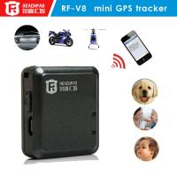 China GPS tracker RF-V8 for kids child older person tracking via Websit SMS ISO/Android APP on sale