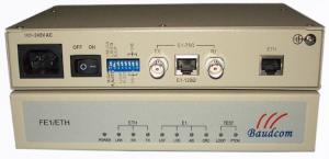 China Framed E1 to Ethernet Converter|Ethernet to E1 converter on sale