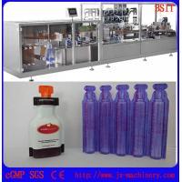 E-liquid/E-juice/E-cigarette/vape standard plastic bottle forming and filing and sealing machine
