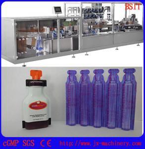 China E-liquid/E-juice/E-cigarette/vape standard plastic bottle forming and filing and sealing machine on sale