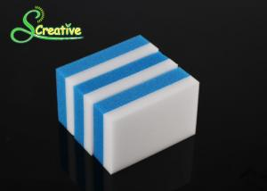 China Polyurethane Foam Melamin Ecleaning  Sponge , White Magic Eraser Block on sale