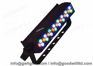 China Red Green Blue 24 LEDS Bar Led Wall Wash Lighting Fixtures Outdoor , Wall Mounted on sale