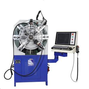 Quality Wire Diameter 0.3 - 2.5mm Twelve Axes Cam-Less CNC Spring Making Machine for sale