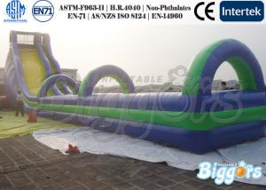 China Great Kids Inflatable Slides Giant Slip Lane Jumper for Exciting Challenge on sale