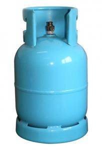 China 9kg 21.6L Steel Lp Gas Cylinder Compressed For Residential Use on sale