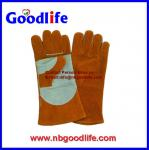 leather welding gloves ,working gloves,industry gloves