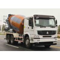 ZOOMLION-HOWO Used Concrete Mixer Truck Euro III Emission 11005x2496x3900mm