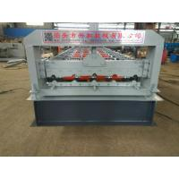 4kw 380V PPGI Steel Tile Type Colorful Stone Coated Metal Roof Tile Roll Forming Machine