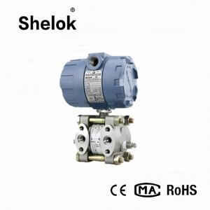 China 4 20ma flange mounted different water liquid capacitive air differential pressure transmitter on sale