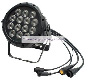 China 14x3W Waterproof Tri color LED Par Can on sale