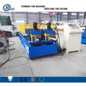 China Drywall Stud And Track Roll Forming Machine / Roll Forming Equipment For Light Steel Track on sale