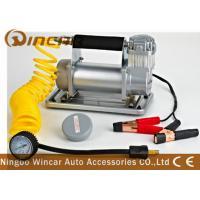 150Psi Metal 40mm Cylinder Car Small Portable Air Compressor 12V 72L / Min Air Flow
