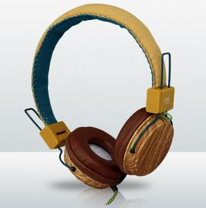 China wooden headsets, wood headphone from china on sale