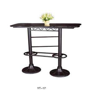 China Modern furniture metal iron table base in carteen  (YT-17) on sale