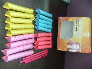 China Magic Hair Curlers Soft To Create Good Curls No Chemical Damage on sale