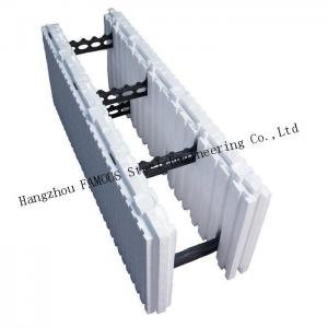China Green House Self Aligning Typical Assembly Insulated Concrete Forms ICFs Wall BuildBlocks on sale