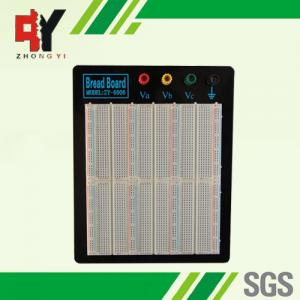 China ABS Plastic Reusable Solderless Breadboard Kit With Aluminum Plate on sale