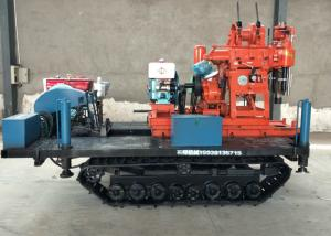 China Diesel Hydraulic Core Drilling Rig 300 Diameter For Water Well / Geotechnical Drill on sale
