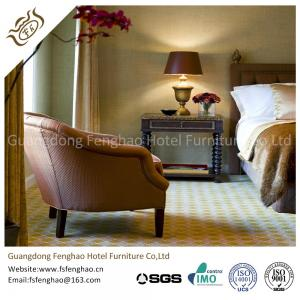 Quality Luxury Suite Full Bedroom Furniture Sets For Holiday / Resort Hotel Room Table for sale