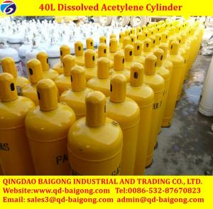 China Dissolved acetylene cylinders Low Price on sale