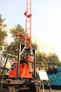China Multiple Speed Prospecting Hydraulic Drilling Rig 360 ° Spindle Rotation on sale