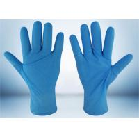 Powder Free Nitrile Examination Gloves 5 MIL Thickness Good Puncture Resistance