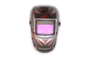 China Automatic Adjustable Welding Helmet , DIN 9-13 Electronic Welding Helmet on sale