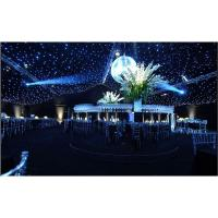 Fairy wedding led star curtain decorative strands for event star curtain