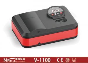 China Single Beam Drug testing Visible Spectrophotometer / 9 Kg Portable Photometer on sale