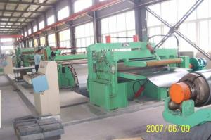 China Customized Galvanised Steel Coil Slitting Machine With Uncoiler / Recoiler on sale