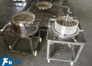 China Laminated Plate And Frame Filter , Stainless Steel Stack Separator Machine on sale