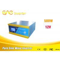 China 500W inverter 12v 110V 220v dc to ac power inverter with battery charger on sale