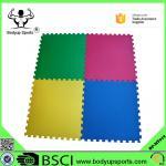 Colorful EVA Soft Gym Foam Tatami Puzzle Mats