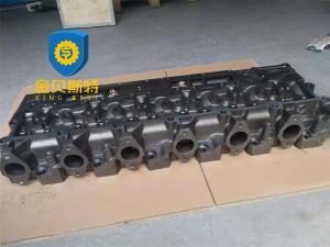 China Standard Size Excavator Engine Parts Cylinder Head Block PC300-7 PC360-7 6D114 on sale