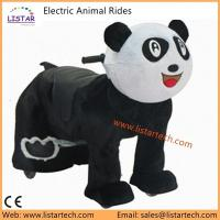 China Hot New products Plush Motorized Riding Animals at mall you can really ride on sale