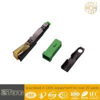 High Level UPC Fiber Connector , Plastic Optical Fiber Connectors Rainproof