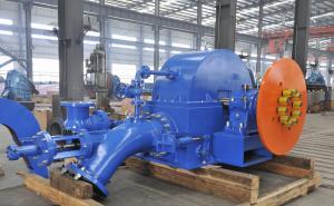 China Small Turbine Generator Small Pelton Turbine For Hydro Power Station Switchyard on sale